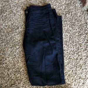 Pants - Dark Blue Jegging